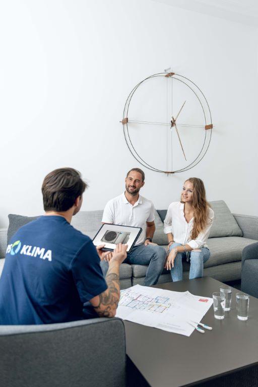 Beratung Planung Klimaanlage privat mit Fachmann